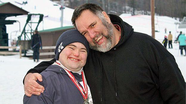 John Cronin y su padre